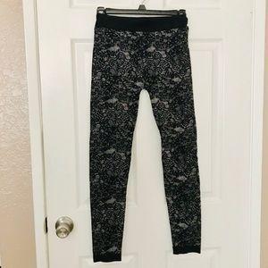 Apt. 9 Pants - Apt 9 Black Lace Leggings Tights Medium